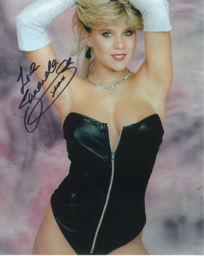 Samantha Fox Model Singer - Genuine Signed Autograph 8306